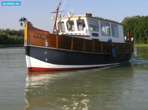 Spitzgatt Trawler *UNIKAT* komplett Refit
